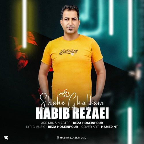 دانلود آهنگ جدید حبیب رضایی شاه قلبم