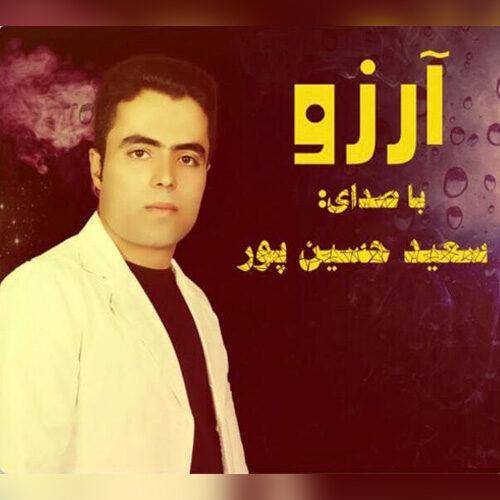 دانلود آهنگ جدید سعید حسین پور آرزو