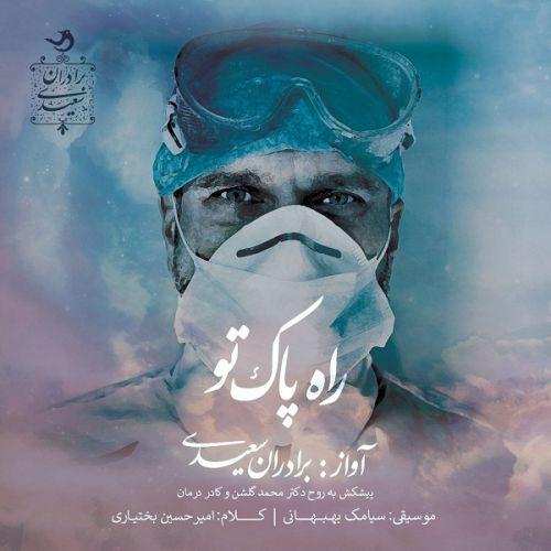 دانلود آهنگ جدید برادران سعیدی راه پاک تو